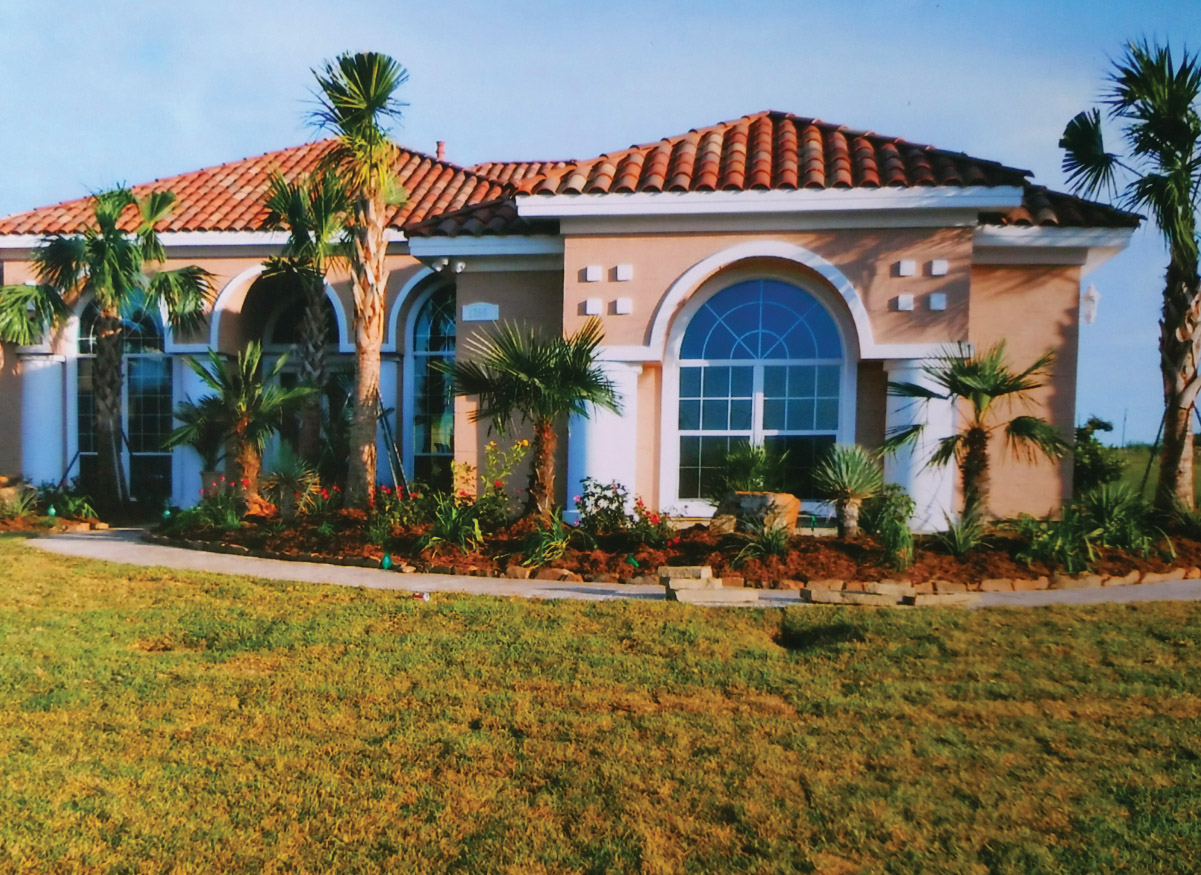 residential landscaping, Beaumont texas